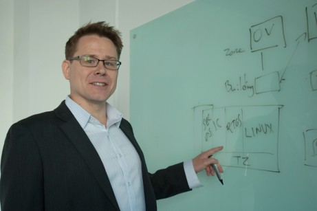 Link Motion's CEO Pasi  Nieminen sees Finland as a very good place to develop smart mobility solutions. Photo: Link Motion